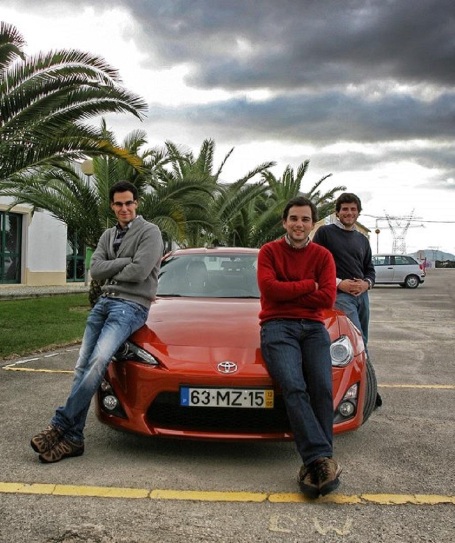 Tiago Luís, Guilherme Costa e Diogo Teixeira