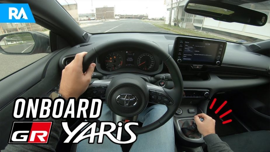 Toyota GR Yaris video on-board