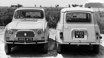 Renault 4L, 1961