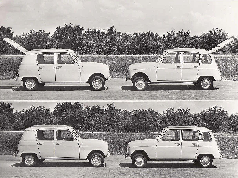 Renault 4 e 4L, 1961