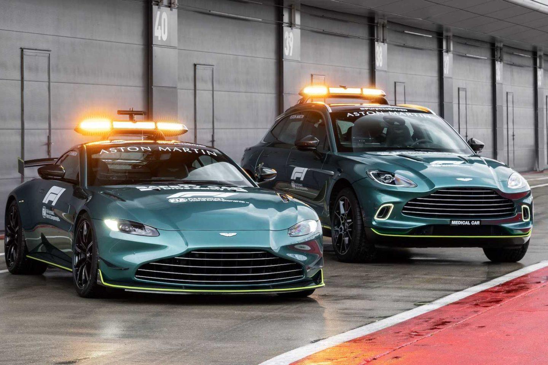 Safety Car F1 Aston Martin