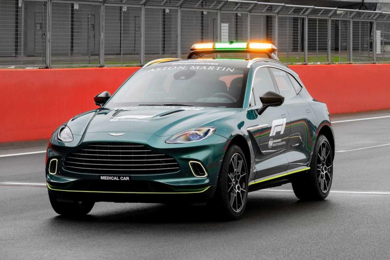 Safety Car F1 Aston Martin DBX