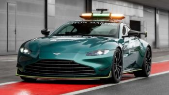 Safety Car F1 Aston Martin Vantage