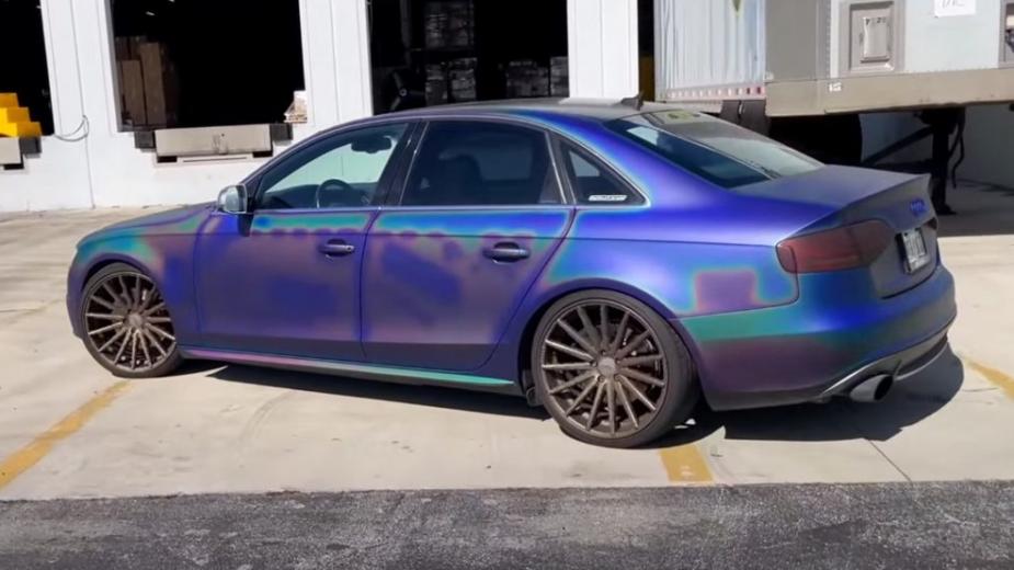 Audi A4 DipYourCar