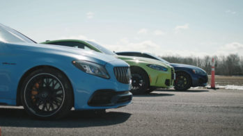 BMW M4 Competition vs Mercedes-AMG C 63 S vs Audi RS 5