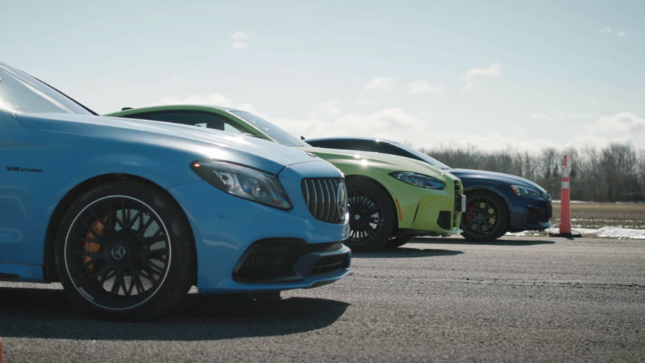 BMW M4 Competition vs Mercedes-AMG C 63 S vs Audi RS 5