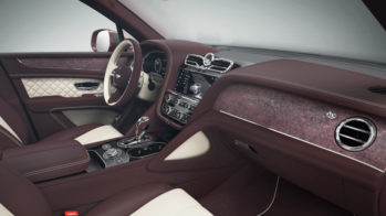 Bentley Mulliner Folhado Pedra Terra