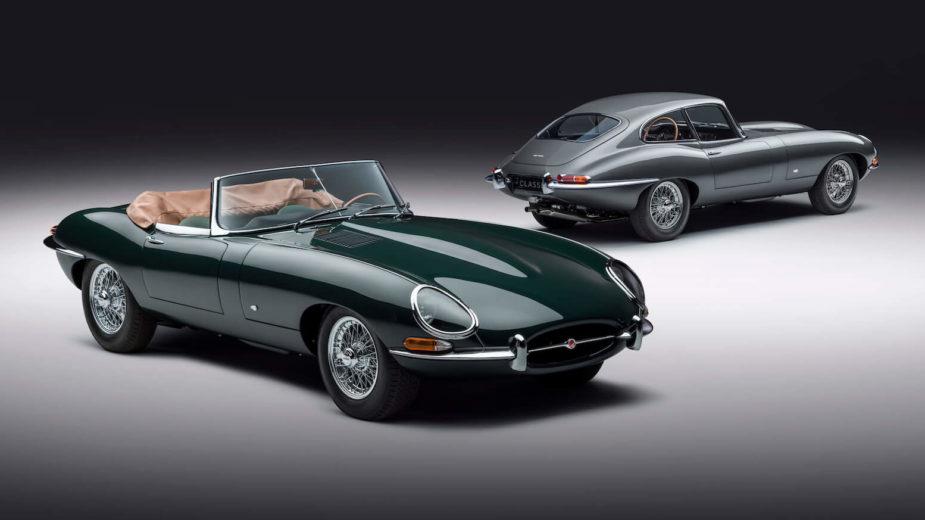 Jaguar E-Type 60 anos