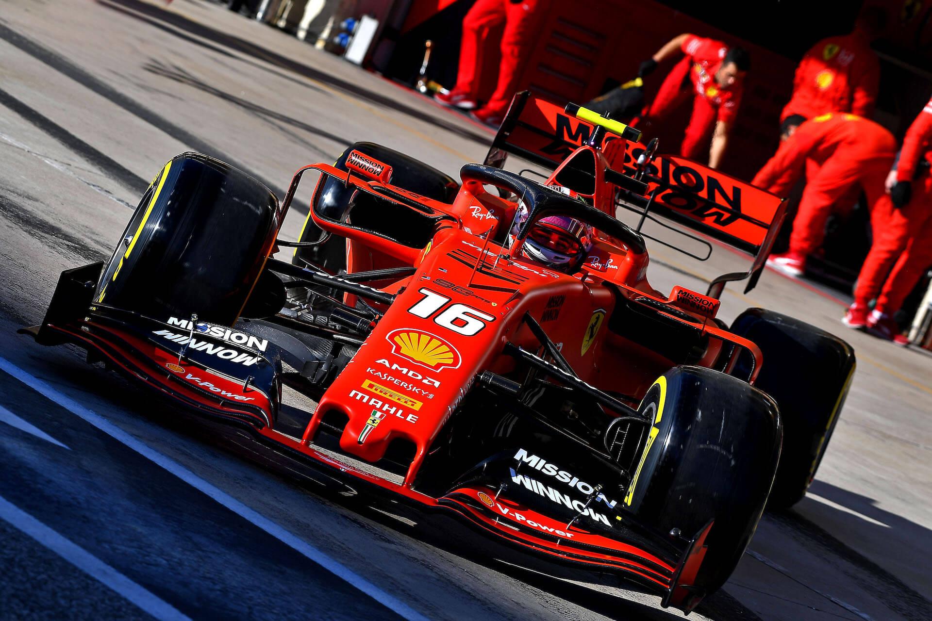 Ferrari SF90 2019 Charles Leclerc