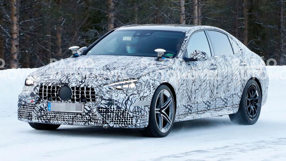 Fotos-espia Mercedes-AMG C 63