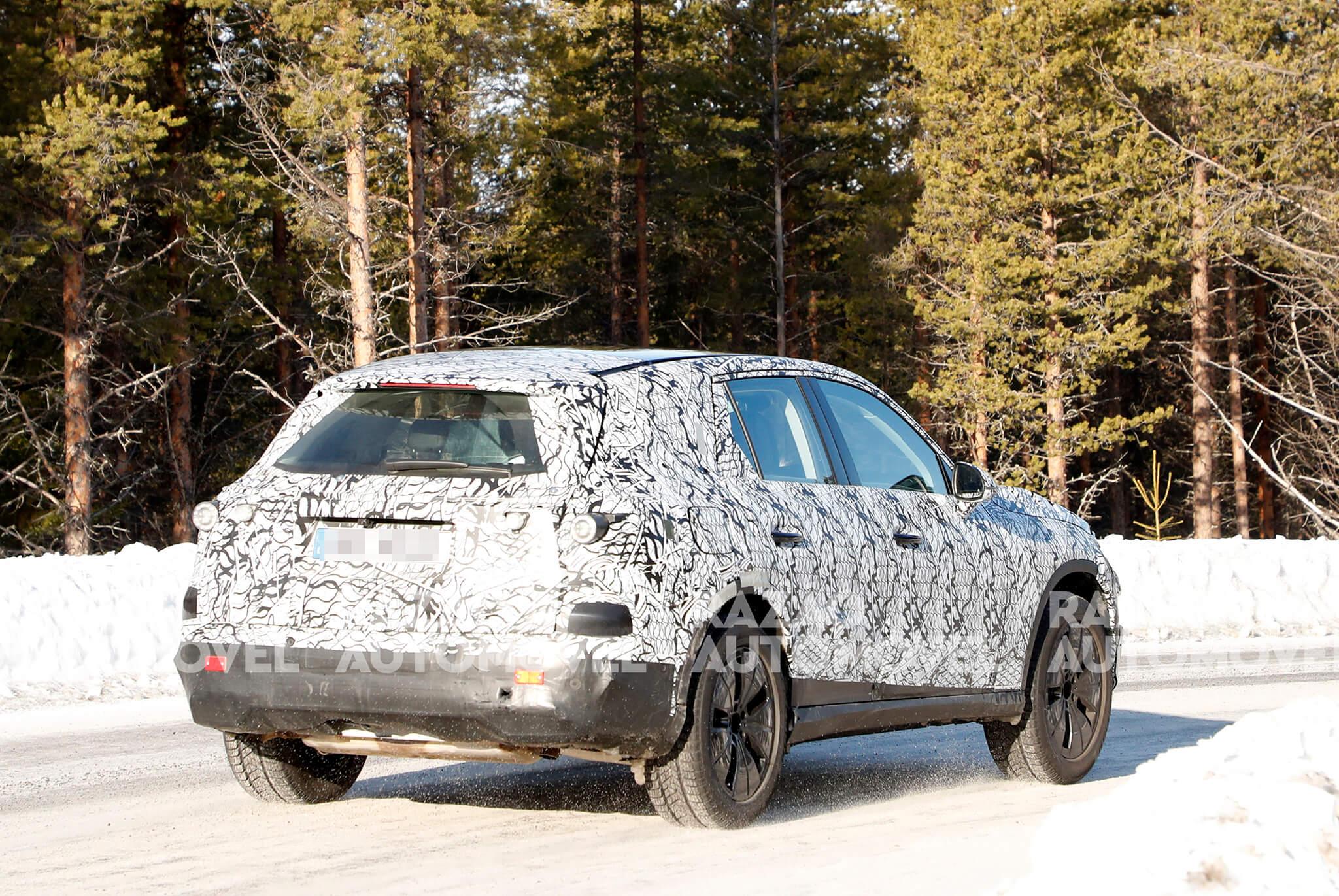 Fotos-espia Mercedes-Benz GLC