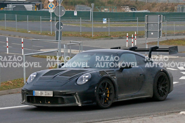 Fotos-espia Porsche 911 GT3 RS