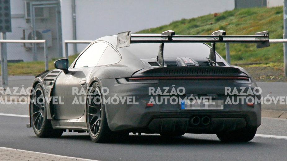 Fotos-espia Porsche 911 992 GT3 RS