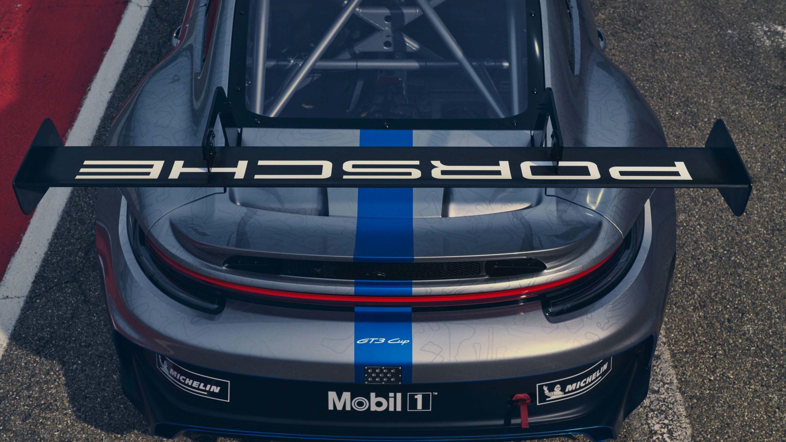 Porsche 911 GT3 Cup e combustíveis sintéticos