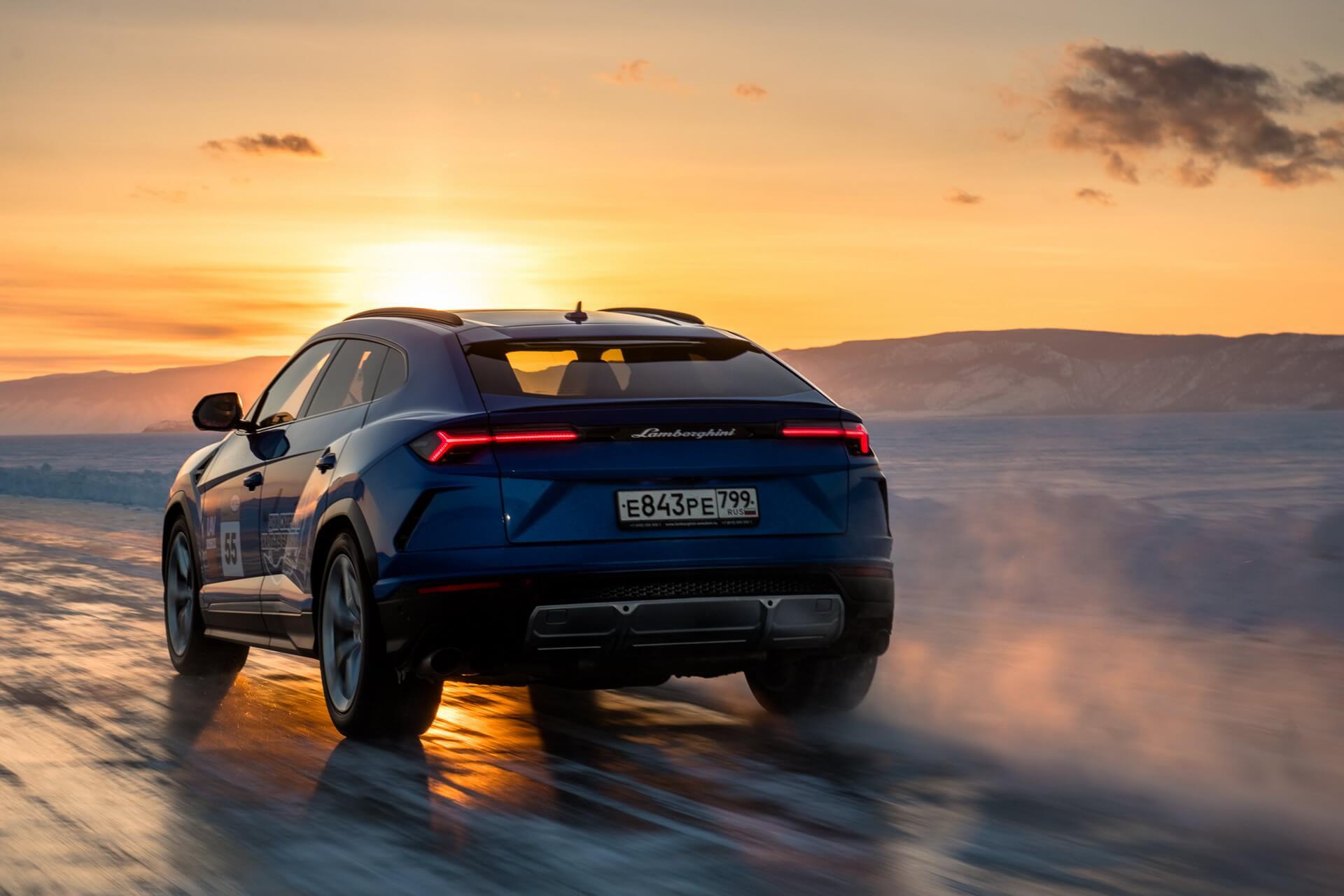 Lamborghini Urus gelo