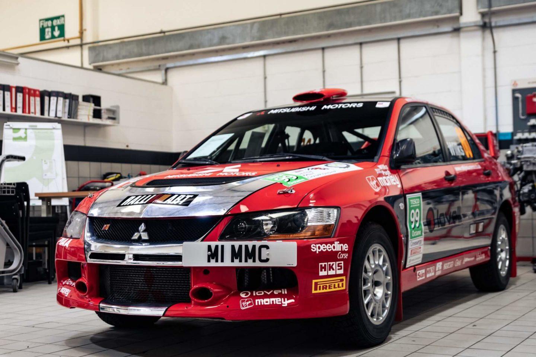 Mitsubishi Lancer Evolution IX de Grupo N