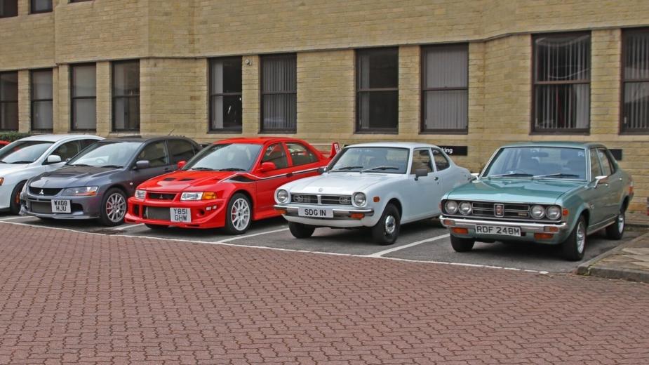 Mitsubishi coleção leilão