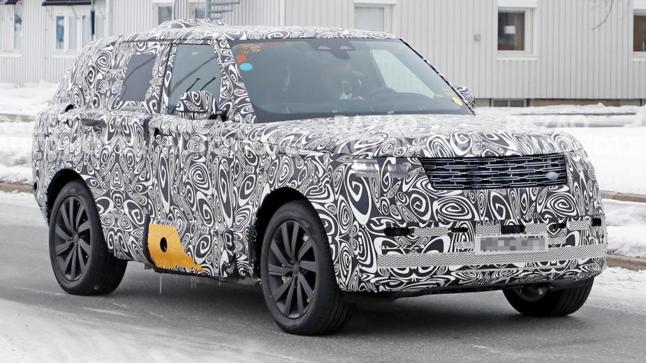 Range Rover fotos-espia