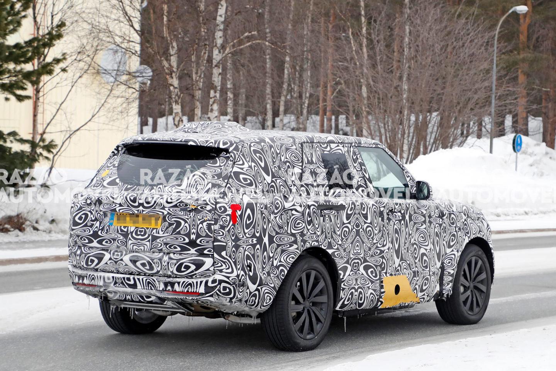 Range Rover 2021 fotos-espia