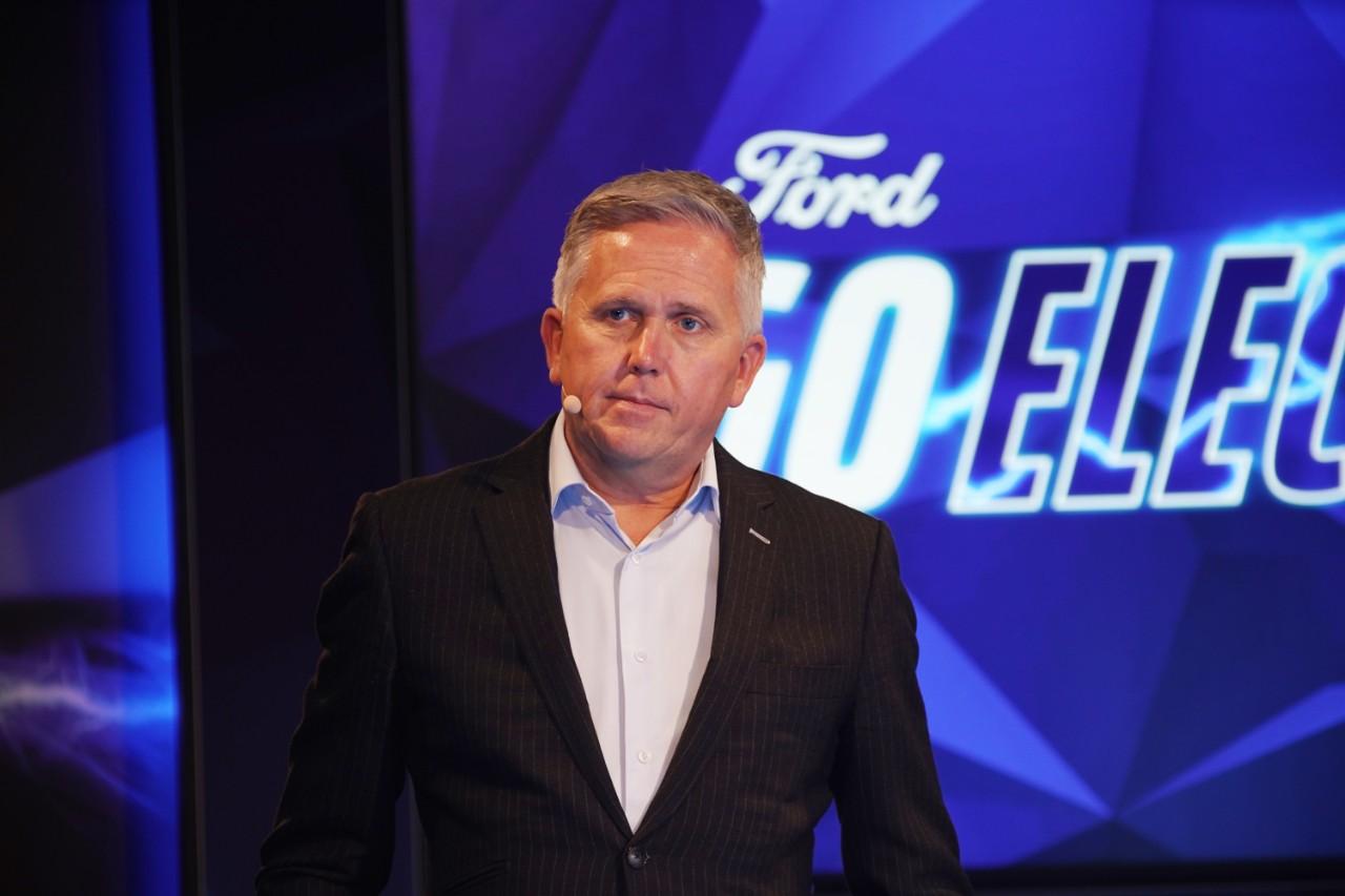 Stuart Rowley - presidente Ford Europa