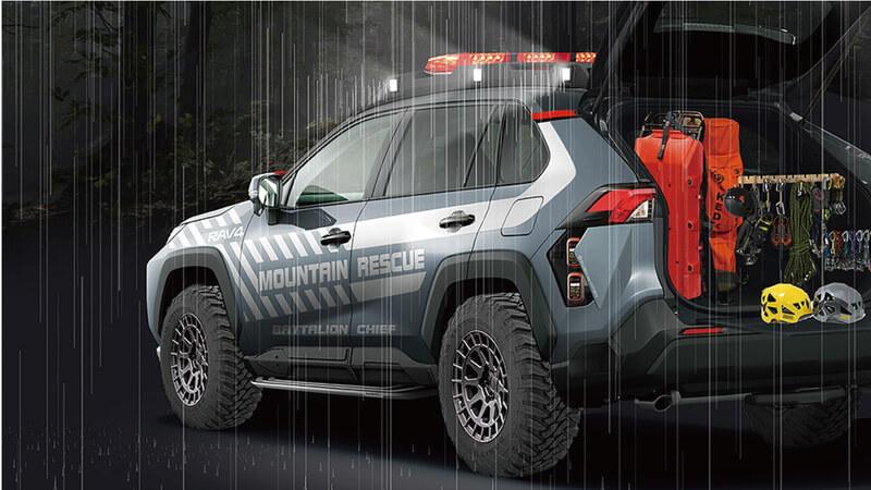 Toyota RAV4 Mountain Rescue