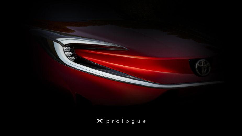 Toyota X prologue