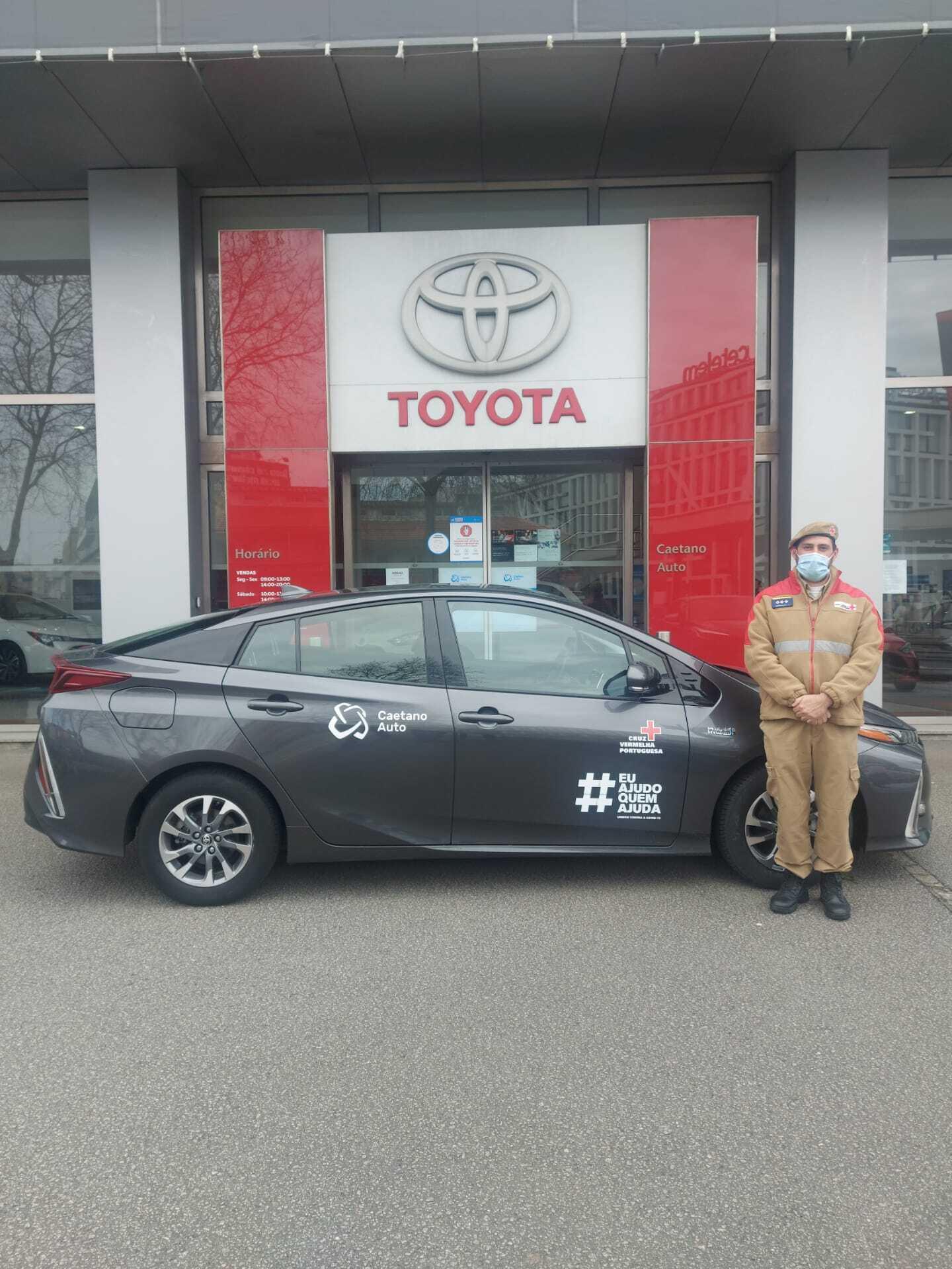 Toyota Prius Cruz Vermelha Portuguesa