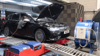 Volkswagen golf r dyno test