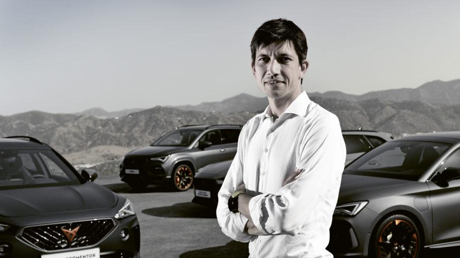 Carlos Galindo, diretor de marketing de produto da CUPRA