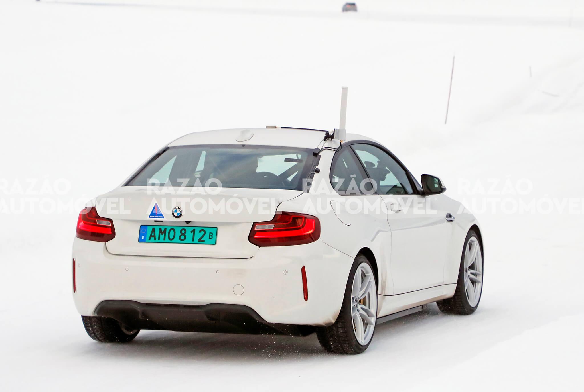 BMW M2 EV fotos-espia