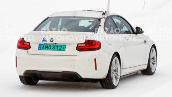 fotos-espia- BMW M2 elétrico