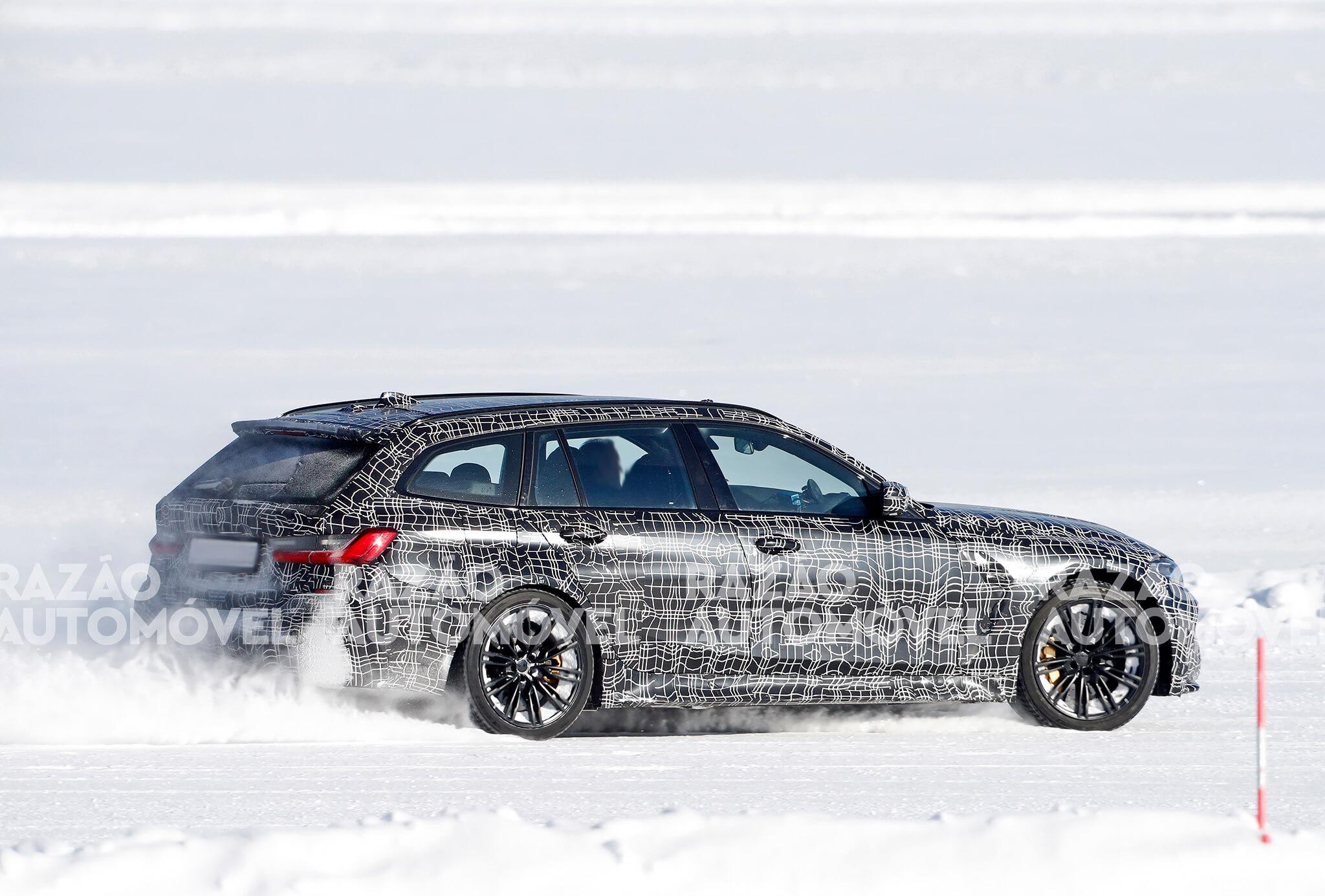 fotos espia BMW M3 Touring