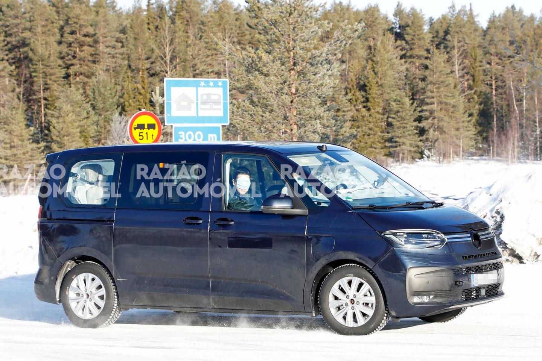 Volkswagen T7 Multivan fotos-espia