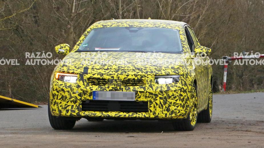 Fotos espia Opel Astra