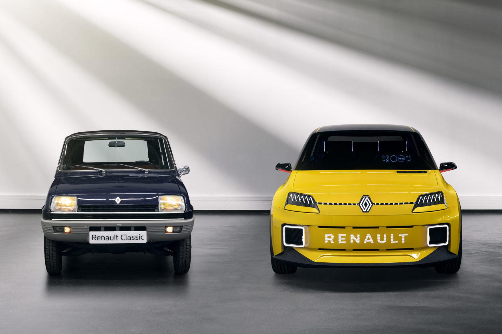 Renault 5 e Renault 5 Prototype
