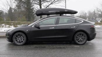Tesla Model 3 Mala Tejadilho Calix