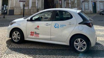 Toyota Yaris Cruz Vermelha Portuguesa