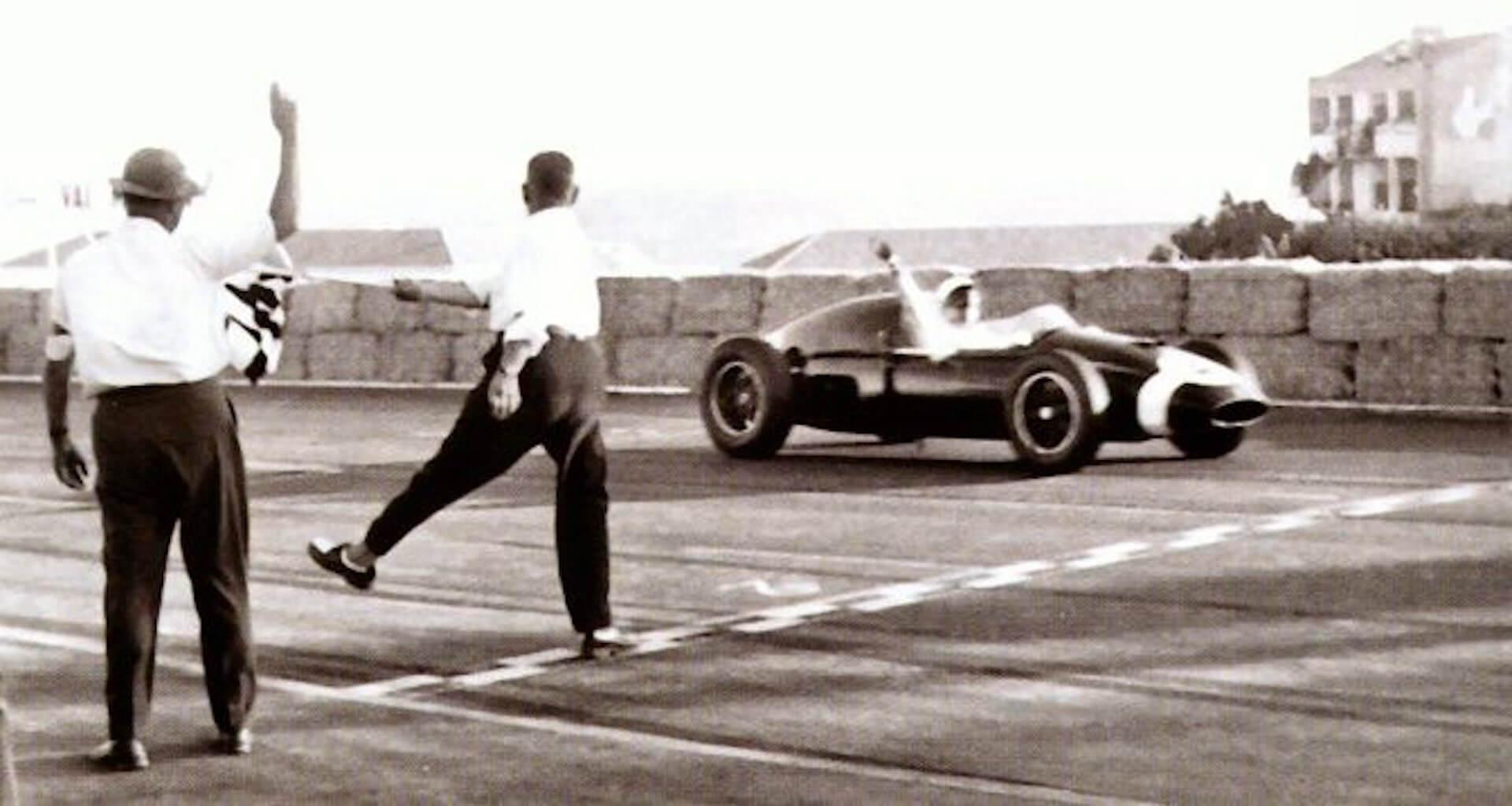 1959 - circuito de monsanto - stirling Moss (cooper-climax)
