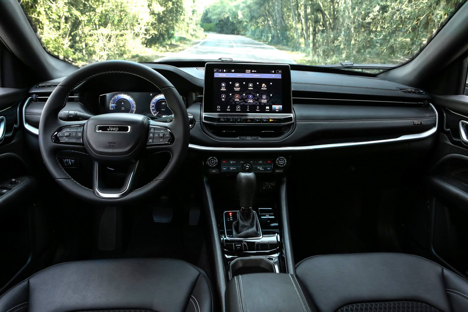 jeep-compass uconnect 5