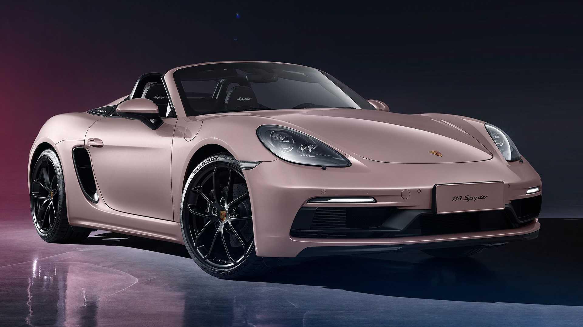 Porsche 718 Spyder China