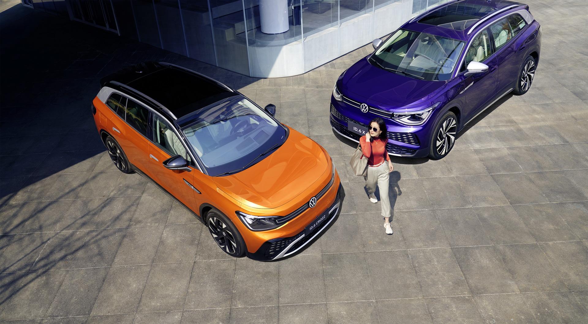 Volkswagen ID.6 Crozz, Volkswagen ID.6 X