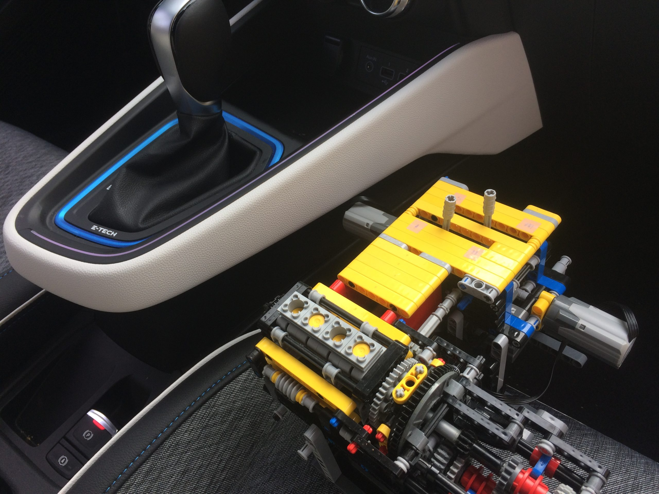 Renault E-tech Lego Technic