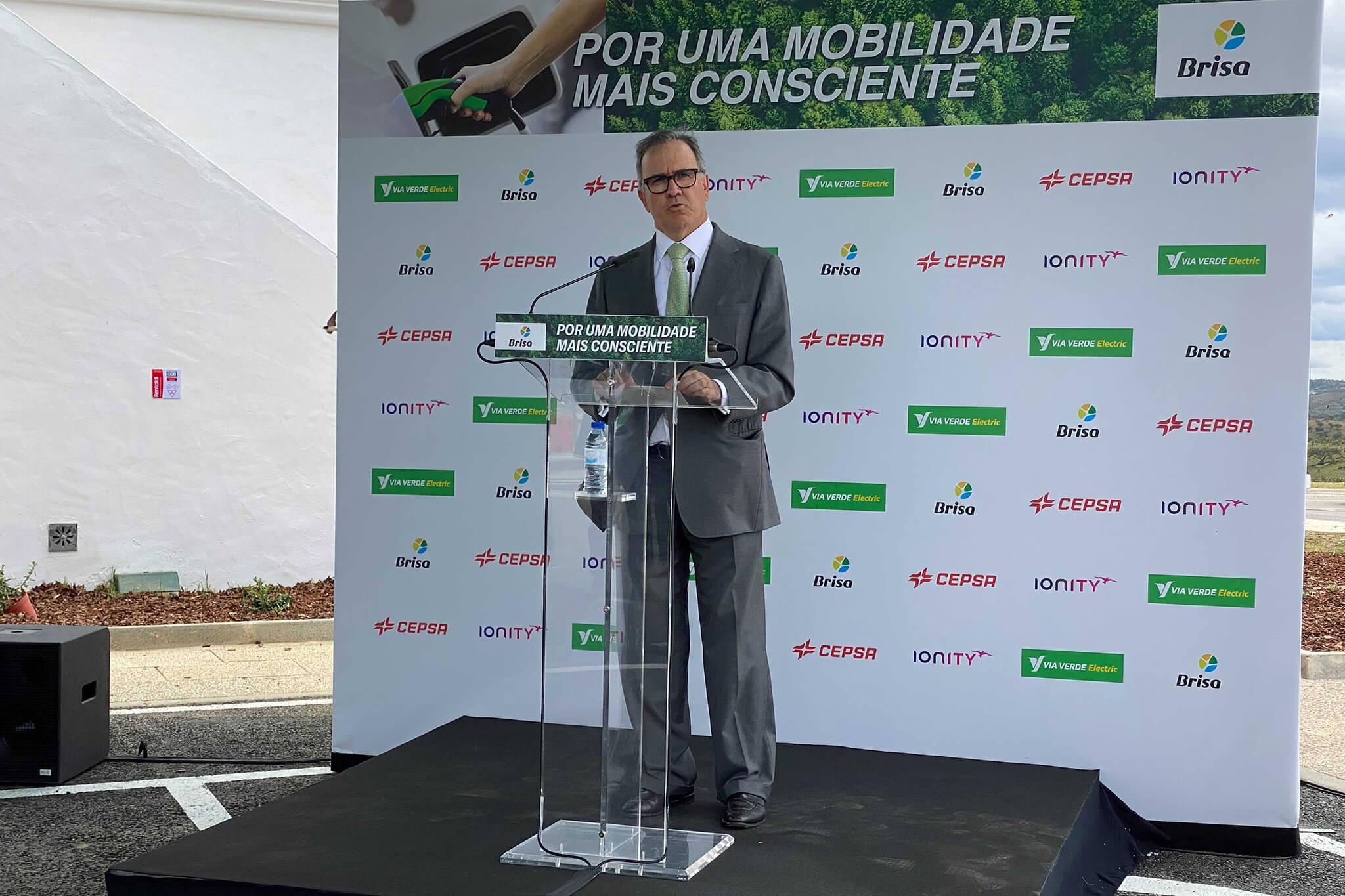 António Pires de Lima, presidente da comissão executiva da Brisa