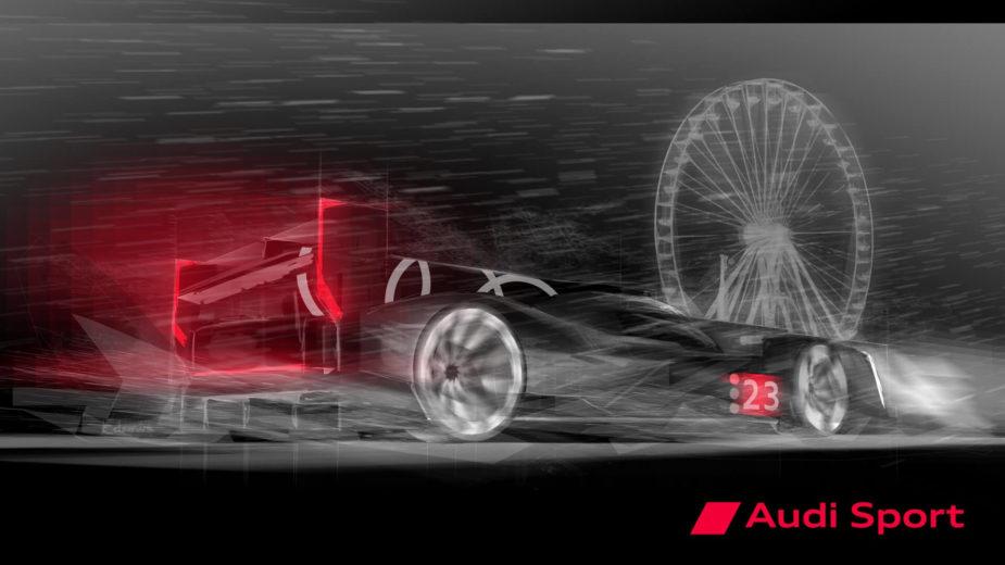Audi LMDh protótipo