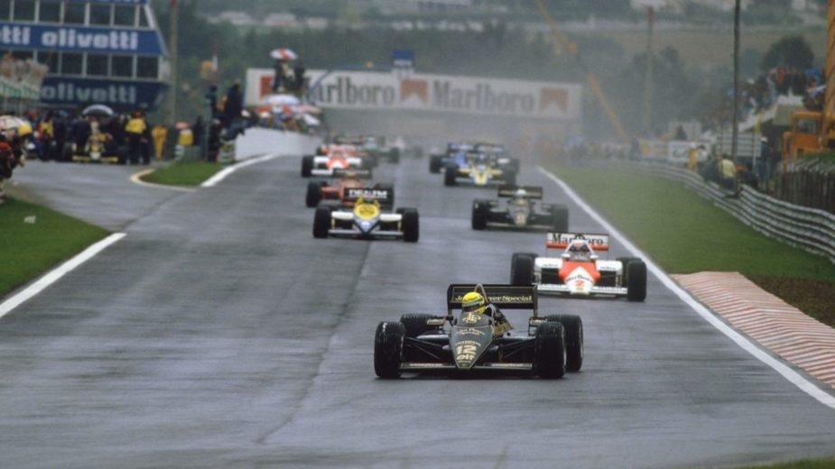 Ayrton Senna - GP Portugal 1985