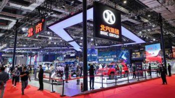 Stand BAIC - Salão de Xangai 2021