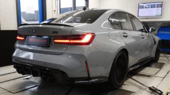 BMW M3 Competition banco de potência