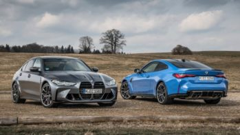 BMW M3 Competition M xDrive, BMW M4 Competition M xDrive
