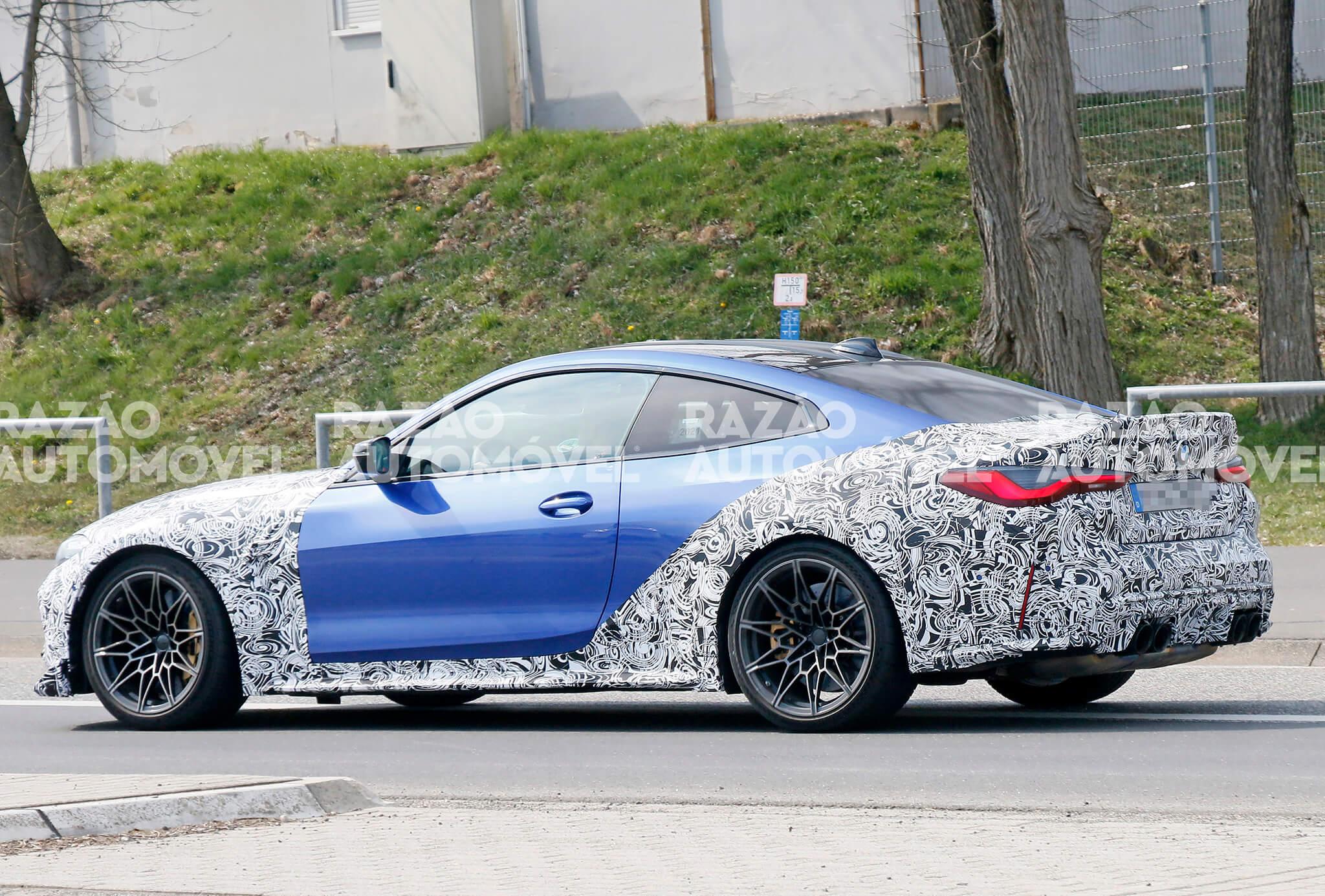 Fotos-espia BMW M4 CS/CSL