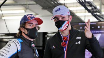 Fernando Alonso e Esteban Ocon